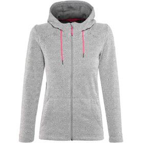 High Colorado Bergamo Strickfleece-Jacke Damen grau